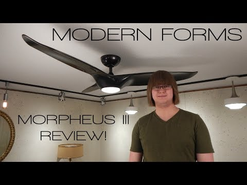 Product Review! Modern Forms Morpheus III Smart Ceiling Fan