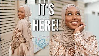 MY HUGE ANNOUNCEMENT + Everyday Hijab Tutorial! | Aysha Harun