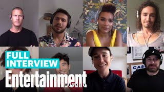 The Umbrella Academy Cast: Ellen Page, Aidan Gallagher, Robert Sheehan, More   Entertainment Weekly