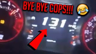 HELLCAT RUNS FROM POLICE AT 130 MPH!!! - BEST COPS VS. CARS 2019 COMPILATION!!!
