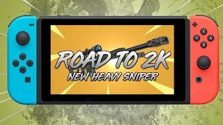 NEW HEAVY SNIPER (COMING SOON) I 700+ WINS I Fortnite Nintendo Switch
