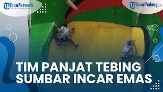 Cabang Olahraga Panjat Tebing Sumbar Ikuti 10 Pertandingan Laga PON XX, Berharap Jemput Medali Emas