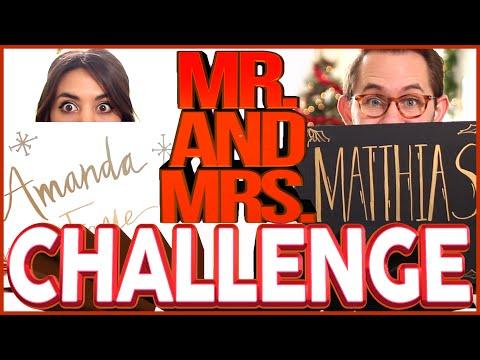 Download CHRISTMAS MR. AND MRS. CHALLENGE | Amanda Faye HD Mp4 3GP Video and MP3