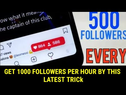 Video dan mp3 How To Get 10k Followers In 1day Instagram Trick