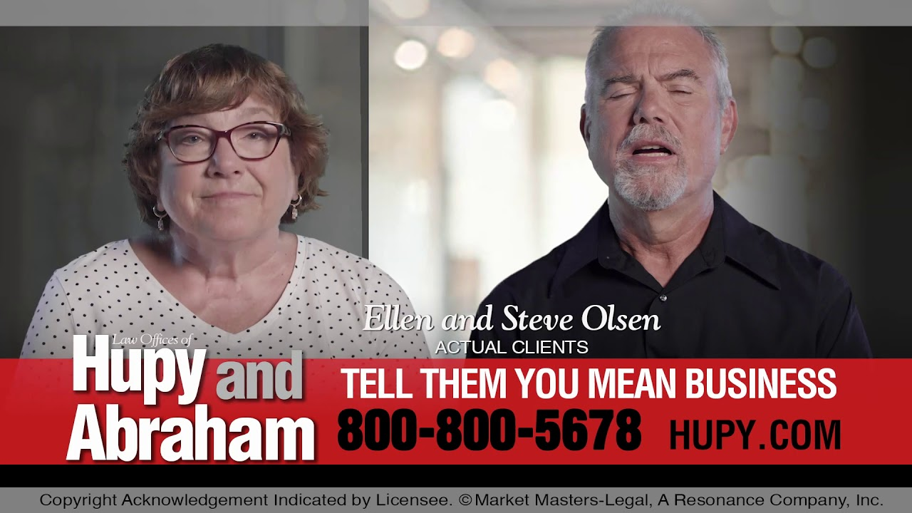 There's Only One Opportunity To Get Things Right After An Accident - Call Hupy and Abraham, S.C.