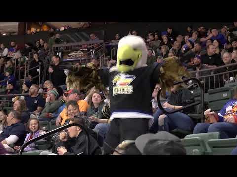 Roadrunners vs. Eagles   Mar. 2, 2019