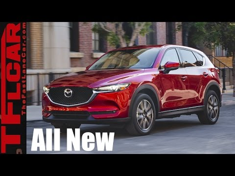 All New 2017 Mazda CX-5: A Smaller & Sexier CX-9 is Born