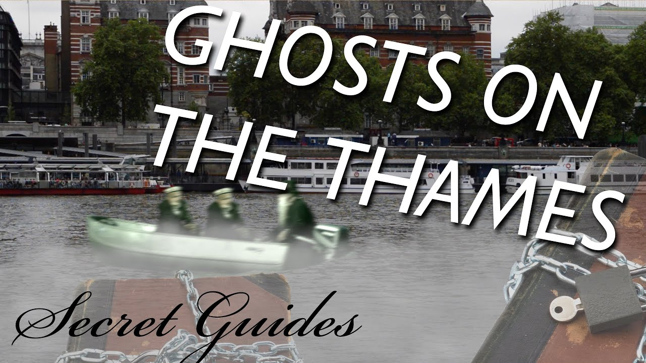 Ghost Ship On The River Thames