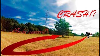 CRASH!? Broke the camera !? Summer FPV Freestyle Падение!? Сломал камеру!? Летний Фпв Фристайл