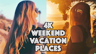Our Weekend Vacation Places 2017  | 4K DJI Inspire 2