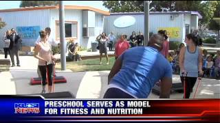 Preschool Fitness Model – KUSI News