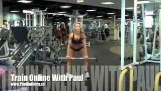 Calgary Fitness Tutorial - Clean and Jerk with Squats