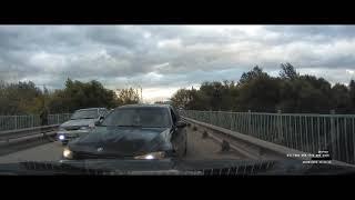 В Туле водитель объехал пробку по встречке