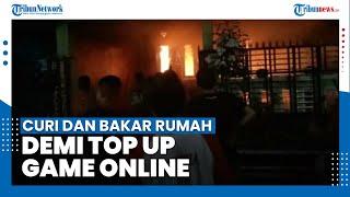 Tak Punya Uang untuk Top Up Game Online, Bocah Nekat Mencuri dan Bakar Rumah Tetangga
