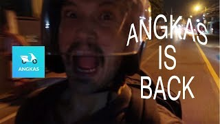 ANGKAS IS BACK - FIRST TIME TO RIDE ANGKAS | HOW TO BOOK IN ANGKAS | DADVENTURES TV