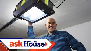 How To Replace A Garage Door Opener | Ask This Old House