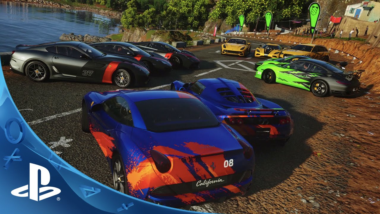 New DRIVECLUB Video Showcases Online Challenges