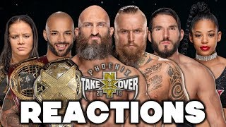 NXT TakeOver: Phoenix Live Reactions