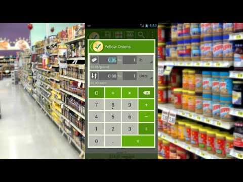 Video of Grocery List - rShopping