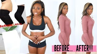 IS IT A MIRACLE OR A SCAM? TRYING ON £200 SHAPEWEAR MY STOMACH BETTER BE FLAT FLAT!