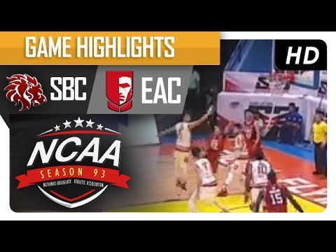 Red Lions vs. EAC Generals | NCAA 93 | MB Game Highlights | July 21, 2017