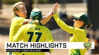 Aussies dominate to secure Rose Bowl   Second CommBank ODI