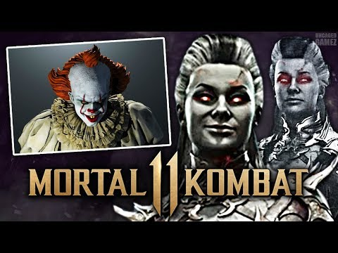 Mortal Kombat 11 - NEW Look at Sindel Revealed & Pennywise Teased?!