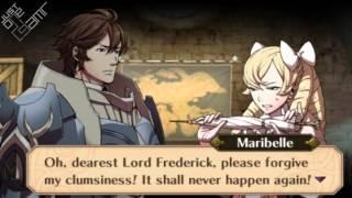 Fire Emblem Awakening - Frederick & Maribelle Support Conversations