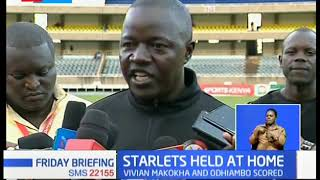 STARLETS vs ZAMBIA: Starlets held at home
