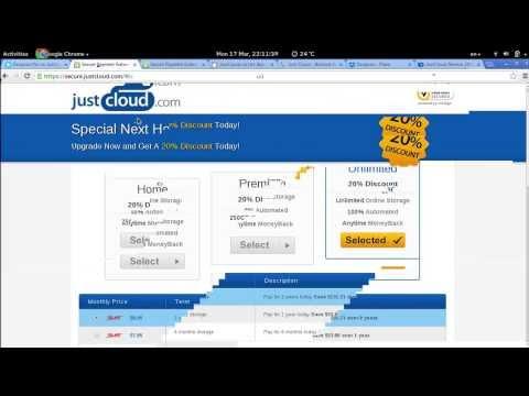 Cloud service review Justcloud