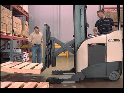 Crown DP MoveSafe Forklift Operator Training