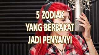 5 Zodiak Berbakat Jadi Penyanyi