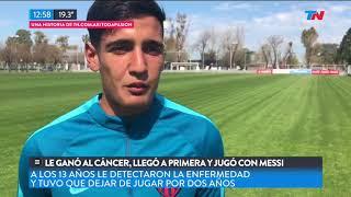 Le ganó al cáncer, llegó a primera y jugó con Messi