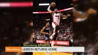 Lebron James - The Return to the Cavaliers Analysis