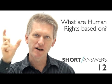 What are Human Rights based on? | Andy Bannister