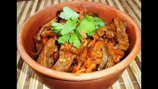 Азу по-татарски. Блюда из мяса с овощами.