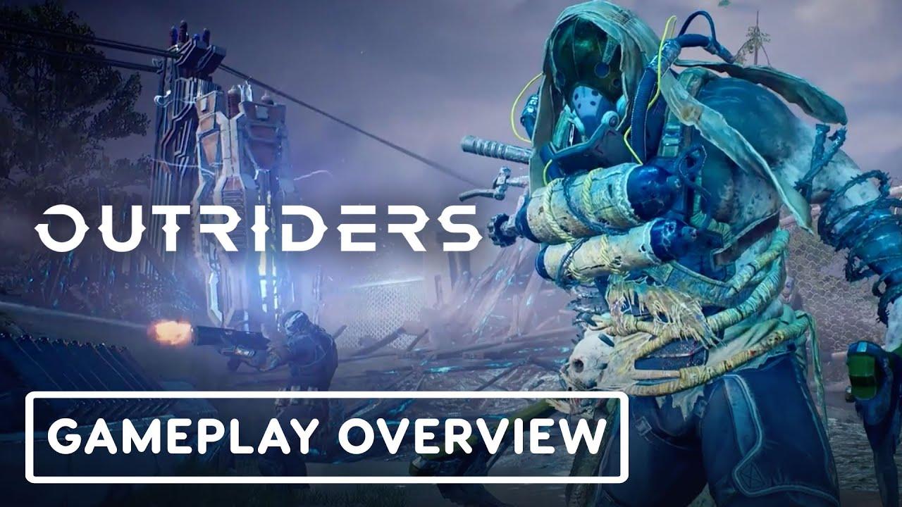 Геймплейный трейлер игры Outriders