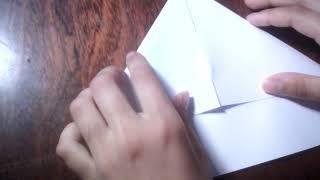 Караблик из бумаги.