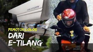 Viral Pemotor Iseng Lolos dari E-Tilang, Tutupi Plat Motor Gunakan Tangan