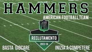 HAMMERS American Football Team: reclutamento stagione 2013-14