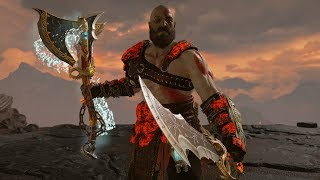 God Of War - Wield Blades Of Chaos W/ Leviathan Axe Tutorial + Runic Attack Variations