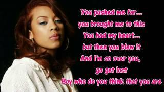 Keyshia Cole Trust and Believe (Lyrics on Screen) - YouTube
