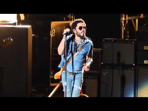 """""""It Aint Over Till It's Over"""" Lenny Kravitz@Mann Center Philadelphia 8/30/15 Strut Tour"""