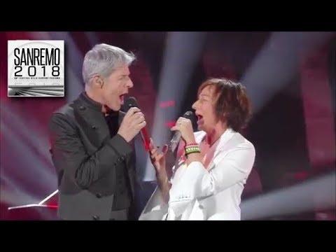 Gianna Nannini e Claudio Baglioni - Amore bello -  Sanremo 2018