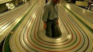 Group slot car race - last in the 22 week series