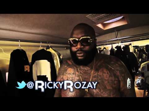 Rick Ross Reebok Photo Shoot!