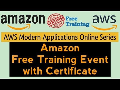 Amazon Free Online Workshop with Certificate   AWS Modern ...
