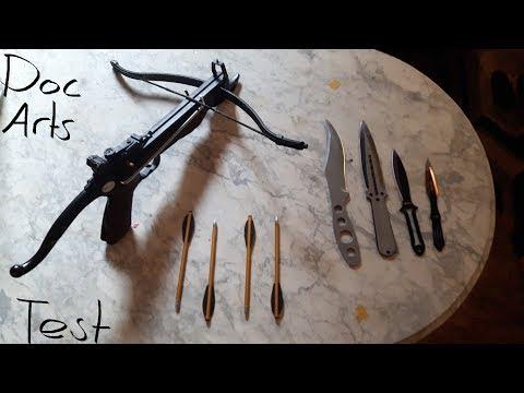 Wurfwaffen & Armbrustpistole Gegen weiches Ziel und Leichte Rüstung