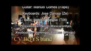 CV BOYS band at Mega Show 2012 with Gil Semedo, Mika Mendes, Sandro Correia, Nilton Ramalho and Lo