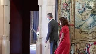 Audiencia a Dª Catalina Cladera i Crespí, presidenta del Consell de Mallorca